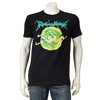 Men's Rick and Morty Portal Tee