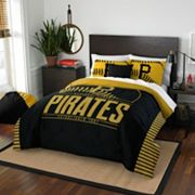 Pittsburgh Pirates Grand Slam Full/Queen Comforter Set by Northwest