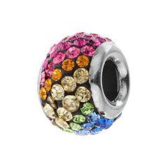 DreamWorks Trolls Sterling Silver Crystal Bead