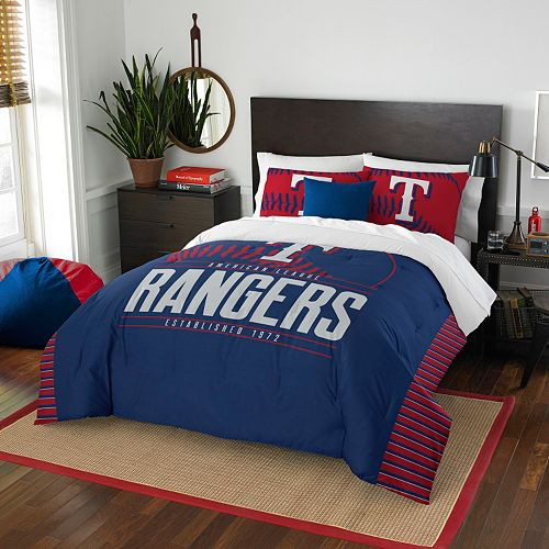 Texas Rangers Grand Slam Full/Queen Comforter Set by Northwest