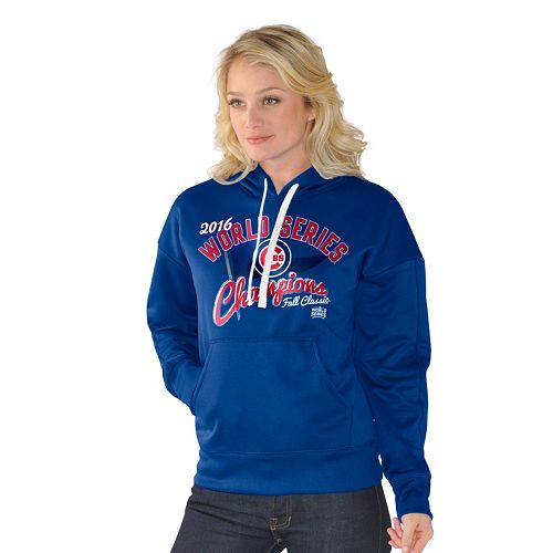 new style f3076 3972c Women's Chicago Cubs 2016 World Series Champions Game ...