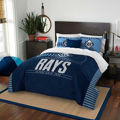 Tampa Bay Rays Grand Slam Full/Queen Comforter Set by Northwest