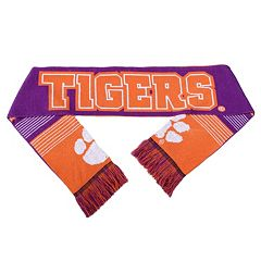 Adult Forever Collectibles Clemson Tigers Reversible Scarf