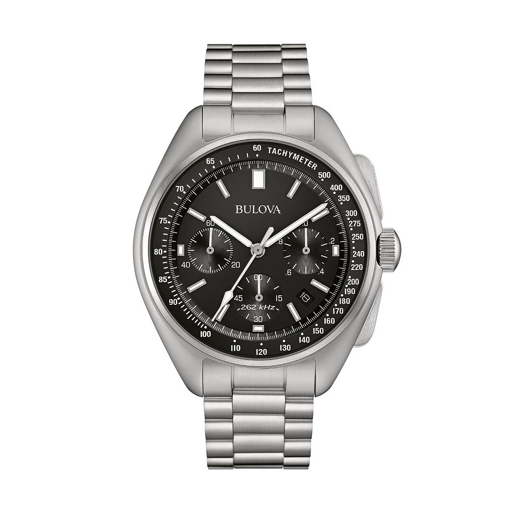 Bulova Men's Special Edition Moon Landing Replica Stainless Steel Chronograph Watch - 96B258