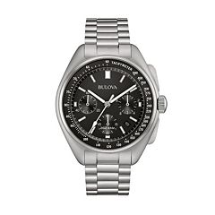 Bulova Men's Special Edition Lunar Pilot Stainless Steel Chronograph Watch - 96B258