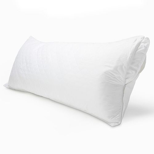 Sateen Quilted Body Pillow Protector