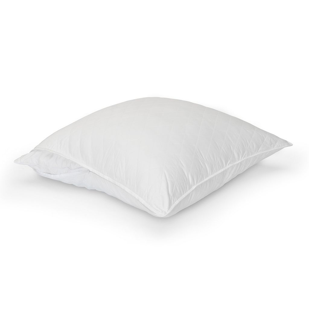 Sateen Quilted 300 Thread Count Euro Pillow Protector