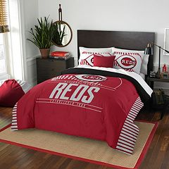 Cincinnati Reds Grand Slam Full/Queen Comforter Set by Northwest