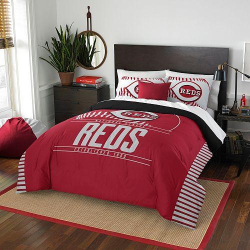 Cincinnati Reds Grand Slam Full/Queen Comforter Set by Northwest