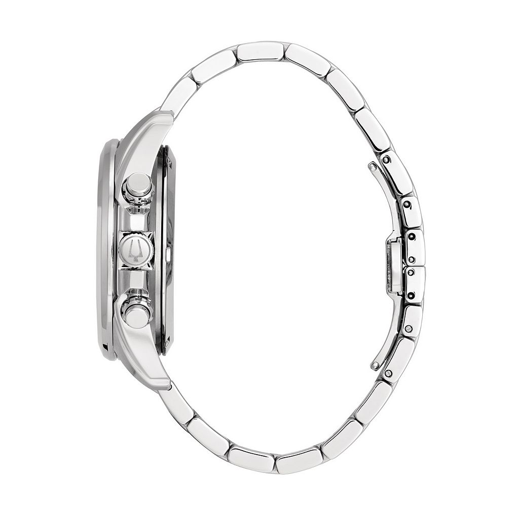 Bulova Men's Precisionist Stainless Steel Chronograph Watch - 96B260