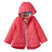 Girls 4-6x Carter's Hooded Midweight Jacket