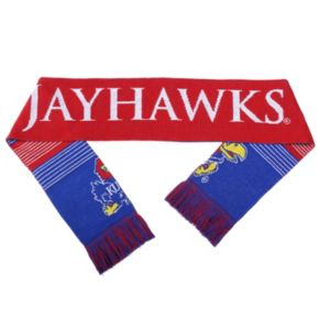 Adult Forever Collectibles Kansas Jayhawks Reversible Scarf