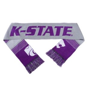Adult Forever Collectibles Kansas State Wildcats Reversible Scarf