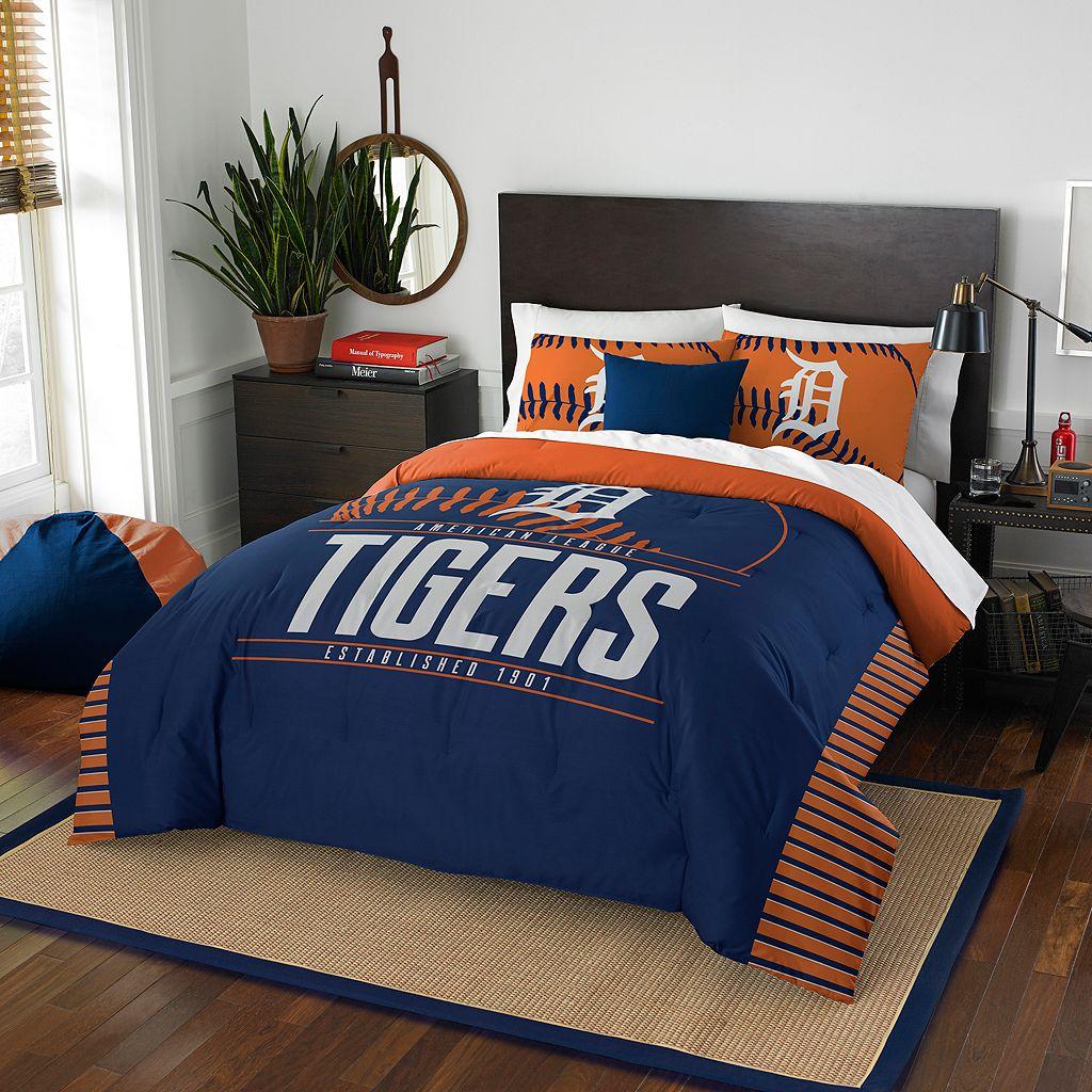 Detroit Tigers Grand Slam Full/Queen Comforter Set by Northwest