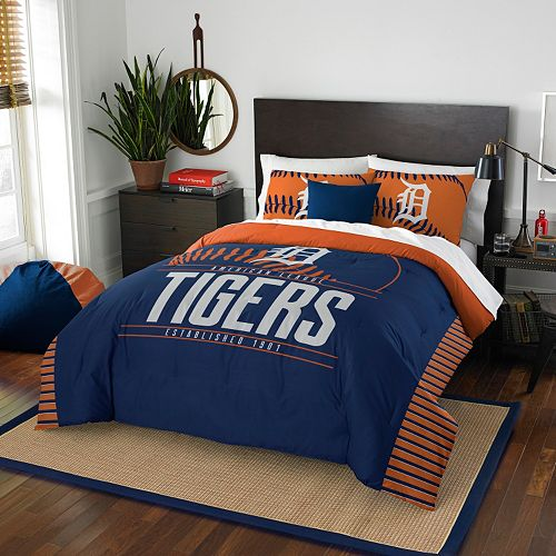 Detroit Tigers Grand Slam Full/Queen Comforter Set by Northwest