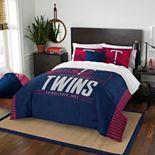 Minnesota Twins Grand Slam Full/Queen Comforter Set by Northwest