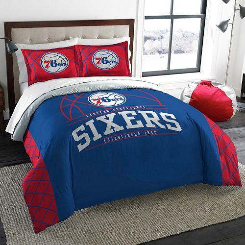 Philadelphia 76ers Reverse Slam Full/Queen Comforter Set by Northwest