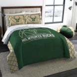Milwaukee Bucks Reverse Slam Full/Queen Comforter Set by Northwest