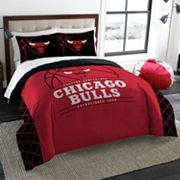 Chicago Bulls Reverse Slam Full/Queen Comforter Set by Northwest