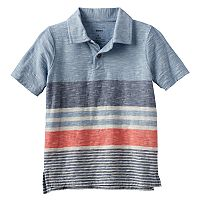 Boys 4-7x SONOMA Goods for Life™ Slubbed Striped Polo