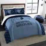 Memphis Grizzlies Reverse Slam Full/Queen Comforter Set by Northwest