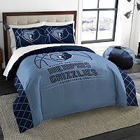 Memphis Grizzlies Reverse Slam Full/Queen Comforter Set by Northwest