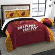 Miami Heat Reverse Slam Full/Queen Comforter Set by Northwest