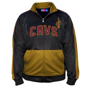 Big & Tall Majestic Cleveland Cavaliers Panel Tricot Track Jacket
