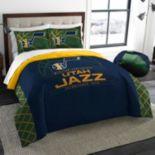 Utah Jazz Reverse Slam Full/Queen Comforter Set by Northwest