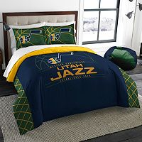 Utah Jazz Reverse Slam Full/Queen Comforter Set by Northwest