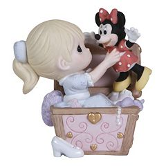Disney's Minnie Mouse Toy Chest Girl Figurine by Precious Moments