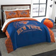 New York Knicks Reverse Slam Full/Queen Comforter Set by Northwest
