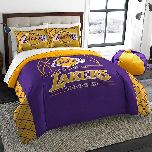 Los Angeles Lakers Reverse Slam Full/Queen Comforter Set by Northwest