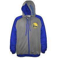 Big & Tall Majestic Golden State Warriors Fleece Full-Zip Hoodie