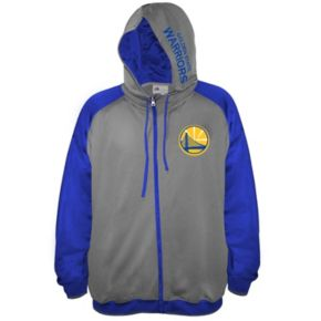 Big & Tall Majestic Golden State Warriors Fleece Full-Zip Hoodie