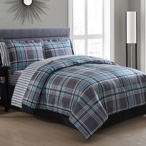 Chelsea Plaid Bedding Set