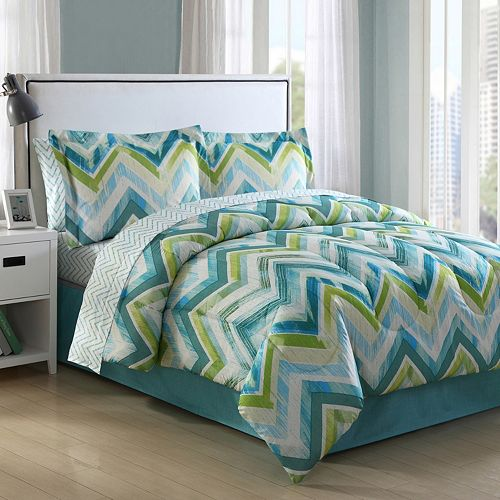 Conner Chevron Bedding Set