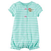 Baby Girl Carter's Striped Romper