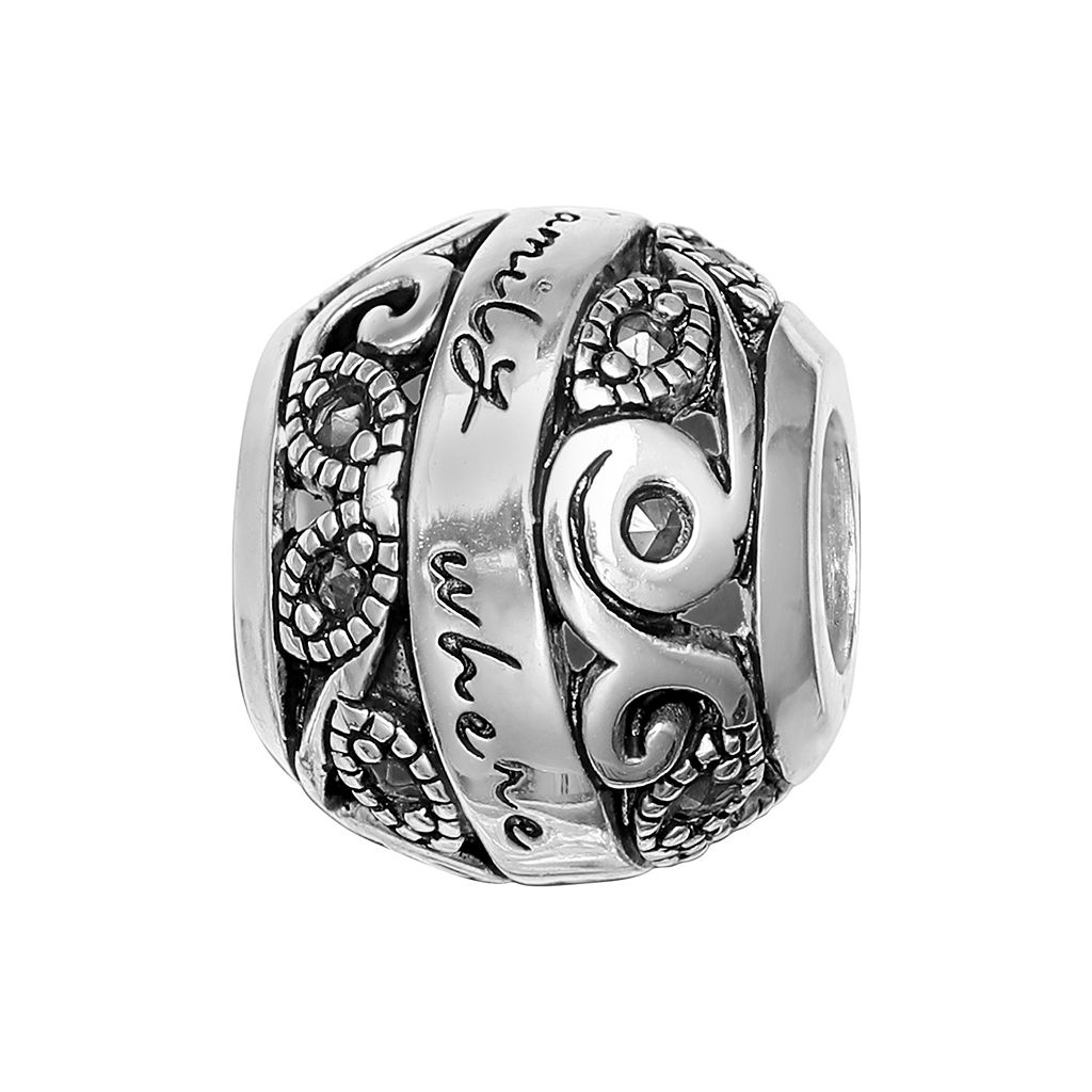 Individuality Beads Sterling Silver Marcasite