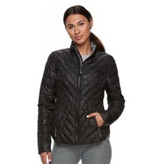 Womens Black Puffer & Quilts Coats & Jackets - Outerwear, Clothing ...