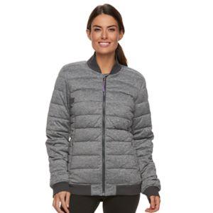 Women's Tek Gear® Zip-Front Bomber Jacket