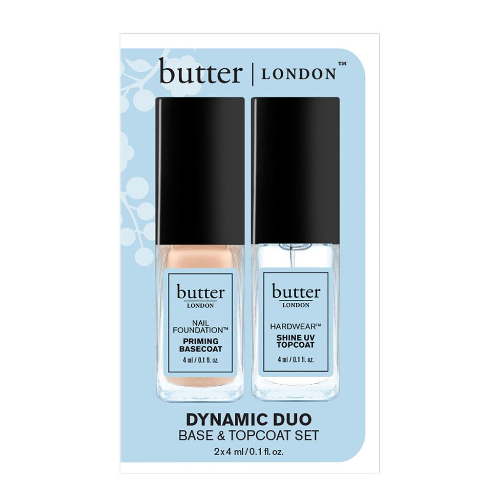 butter LONDON Dynamic Duo 2-pc. Base & Topcoat Set