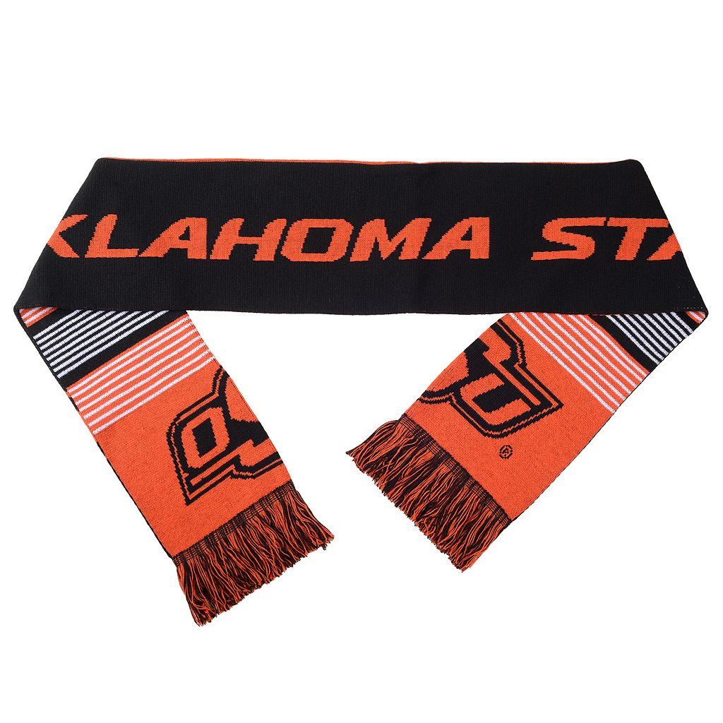 Adult Forever Collectibles Oklahoma State Cowboys Reversible Scarf