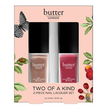 butter LONDON Two of a Kind 2-pc. Nail Lacquer Set