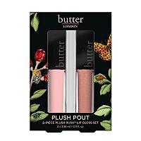 butter LONDON Plush Pout 2-pc. Plush Rush Lip Gloss Set