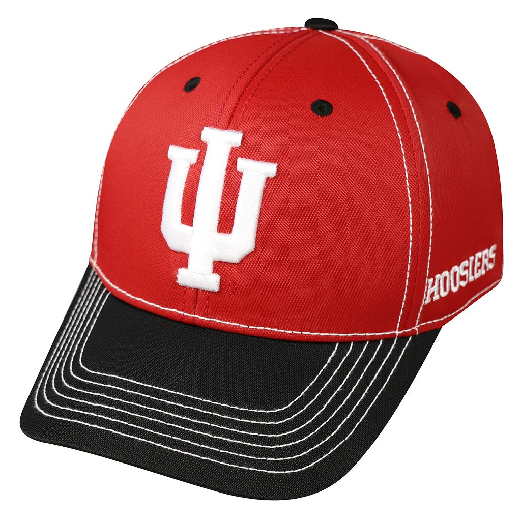 Adult Top of the World Indiana Hoosiers Tactile One-Fit Cap