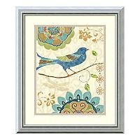 Amanti Art Eastern Tales Birds I Print Framed Wall Art