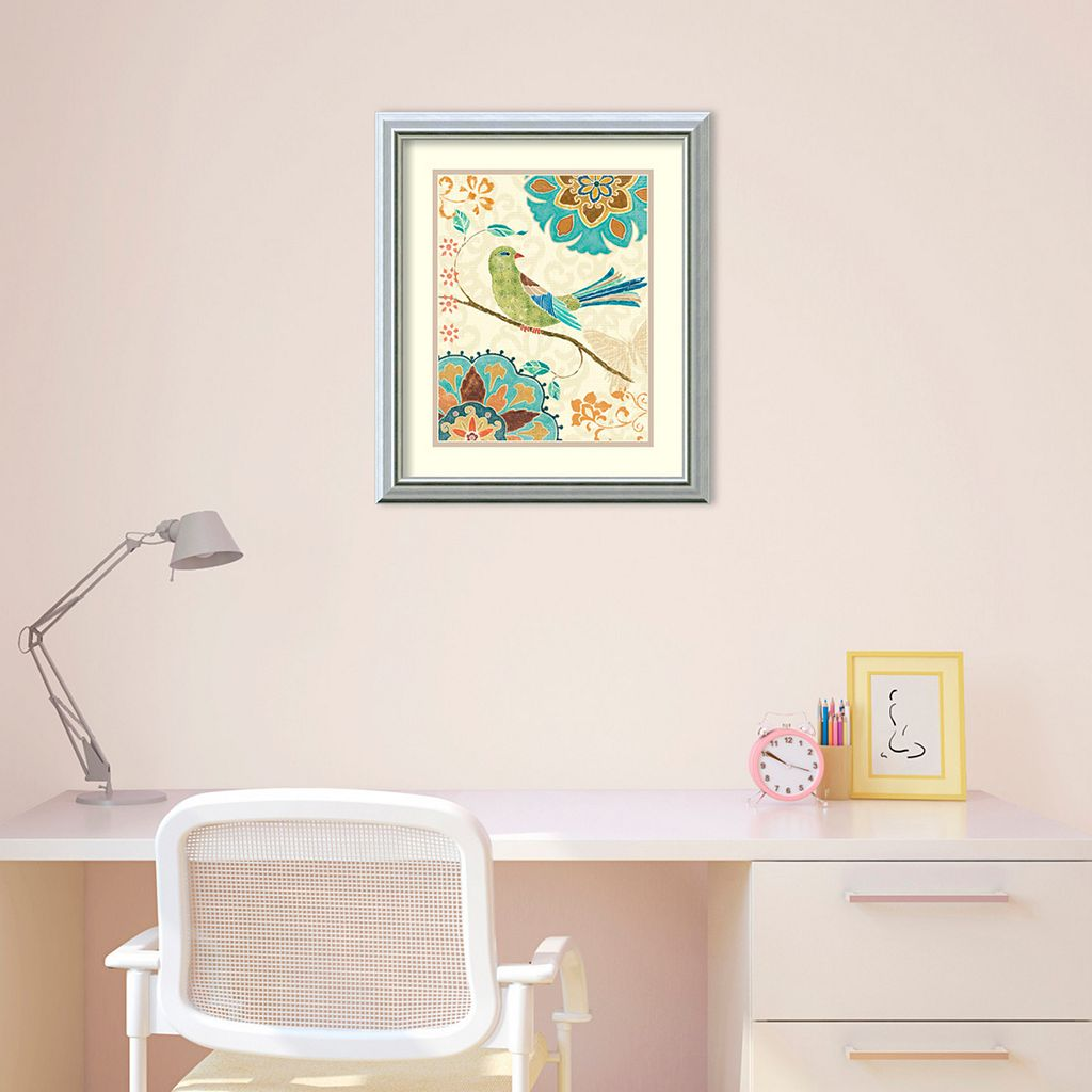 Amanti Art Eastern Tales Birds II Print Framed Wall Art