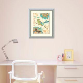 Amanti Art Eastern Tales Birds II Print Framed Wall Art