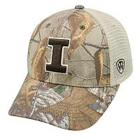 Adult Top of the World Illinois Fighting Illini Prey Camo Adjustable Cap